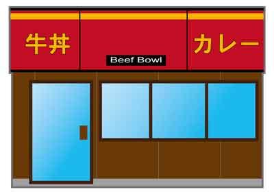 牛丼チェーン
