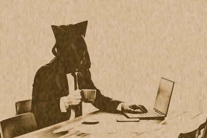 匿名で記事をライティング